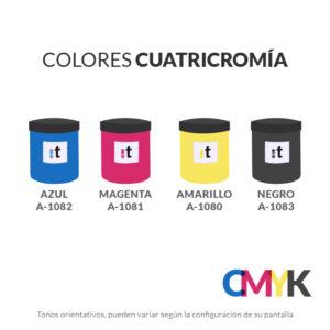 carta colores tiser colores cuatricromia serie a