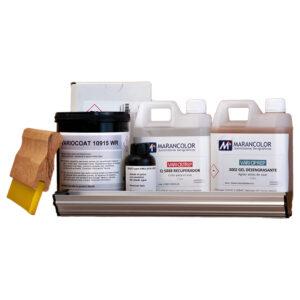 Kit-emulsion-con-desengrasante-recuperador-raedera-rastrillo-serigrafia